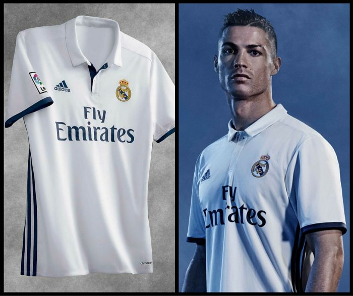 new concept 1f503 f4cc0 Real Madrid released home and away kit for the 2016/2017 season