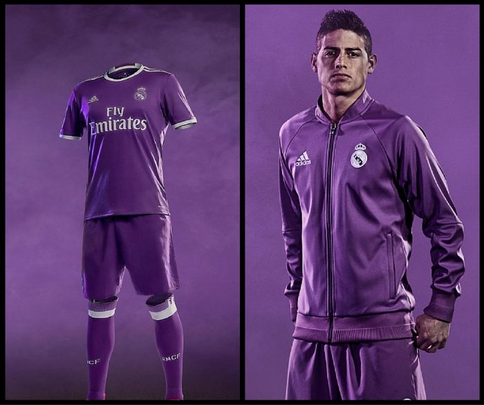new concept 20501 0822c Real Madrid released home and away kit for the 2016/2017 season