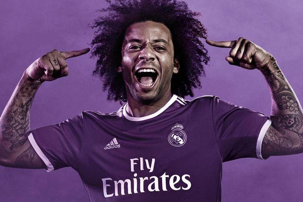 wholesale dealer 819ef 6f5ec Real Madrid and Barcelona release purple away kits
