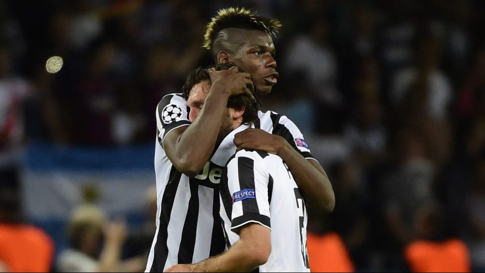 Paul Pogba issues heart-warming message to Andrea Pirlo
