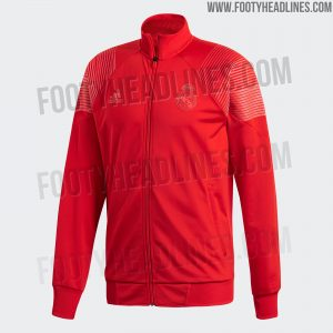 8bbfea308 ... only leak related to the 2018-19 Madrid s apparel collection. Tango  jackets were also revealed. Much like the jersey