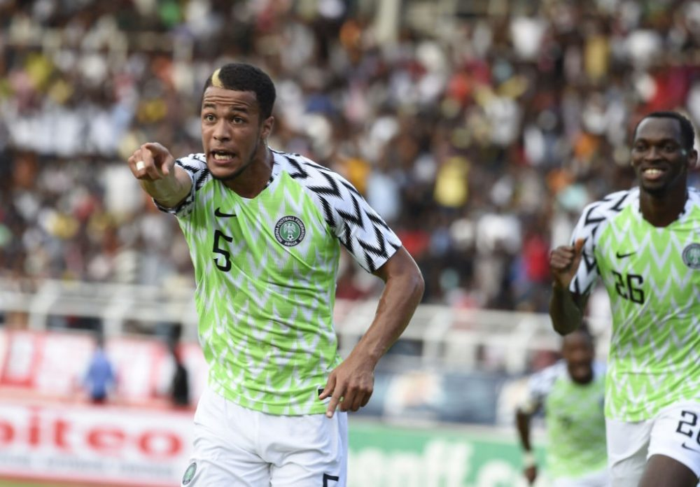0e90d27c909 Nigeria's World Cup kit sells out minutes after release