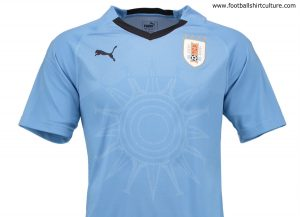 2345aae3d We particularly like the nod to Uruguay s national flag on the design of this  jersey. Nice work.