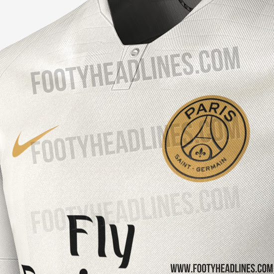 45790adbbc1 The shirt features a buttoned up collar, mirroring Nike's design for  international kits this year rather than their general club kit template.