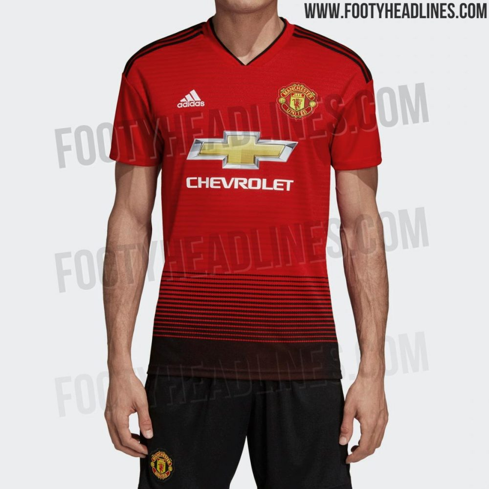 best service cd647 1aee3 📸 Official images of new Man United kit leaked ahead of release