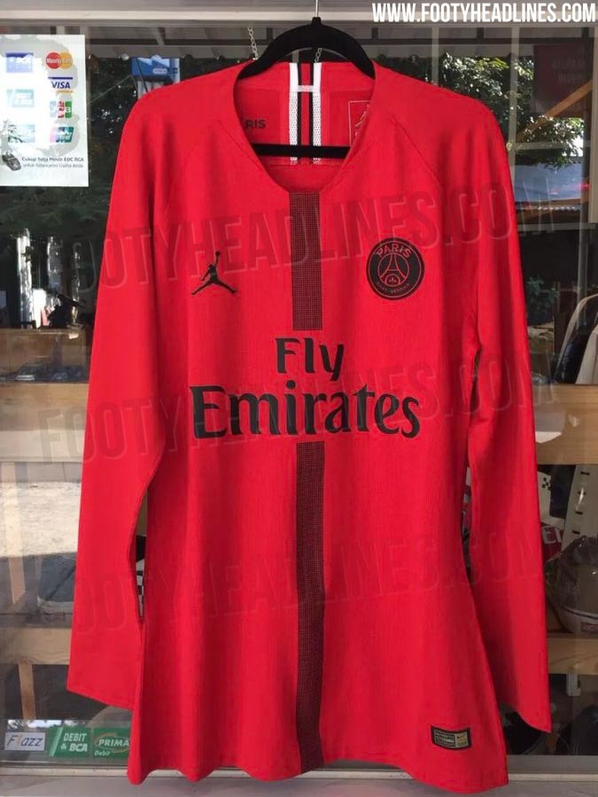 cheap for discount 25a90 c9157 PSG's Michael Jordan-inspired Champions League kits are revealed