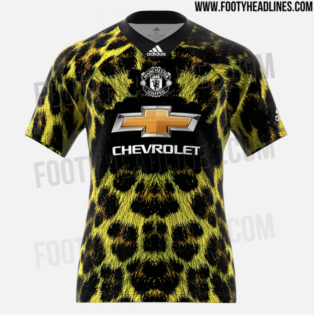 official photos 304d5 0b388 📸 Absolutely awful Manchester United fourth jersey leaks online