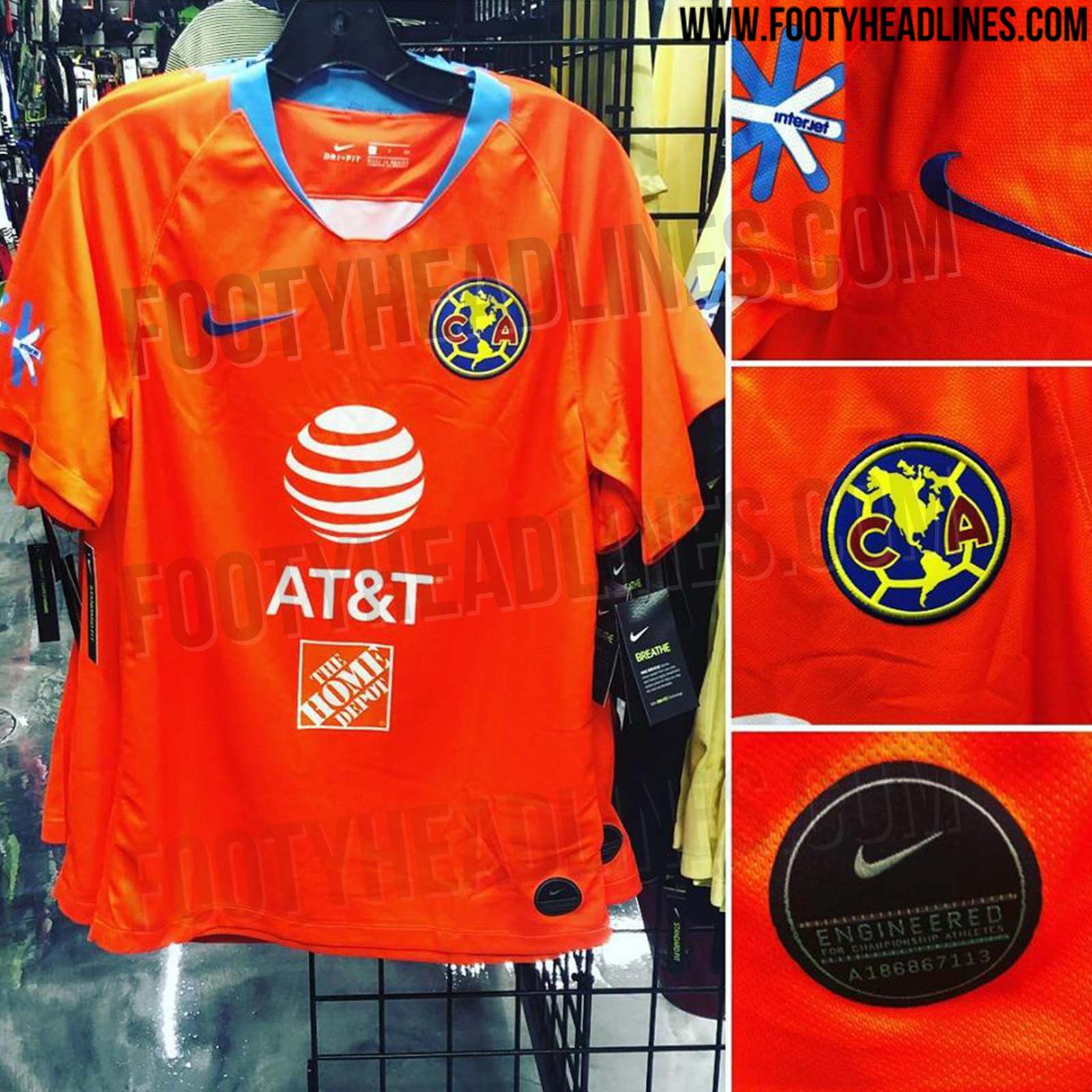 detailed look 231b0 91ad7 📸 Club América have their vibrant new third kit leaked online