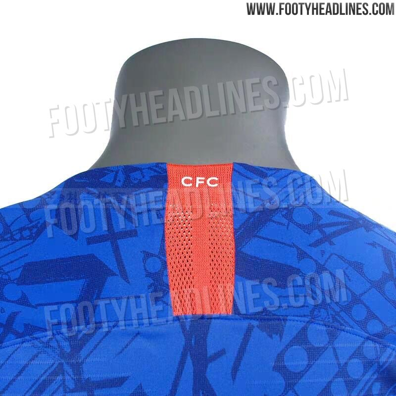 247106d17 📸 Images leaked of Chelsea s  Stamford Bridge-inspired  new kit