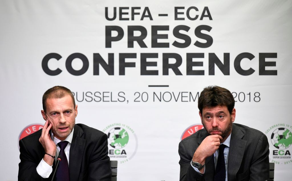 Serie A clubs against proposed UEFA Champions League reform