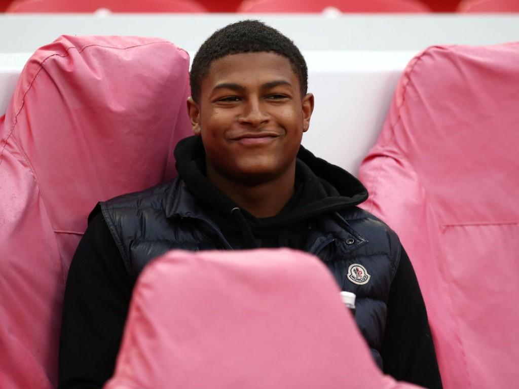 Jadon Sancho backs Rhian Brewster to shine at Liverpool