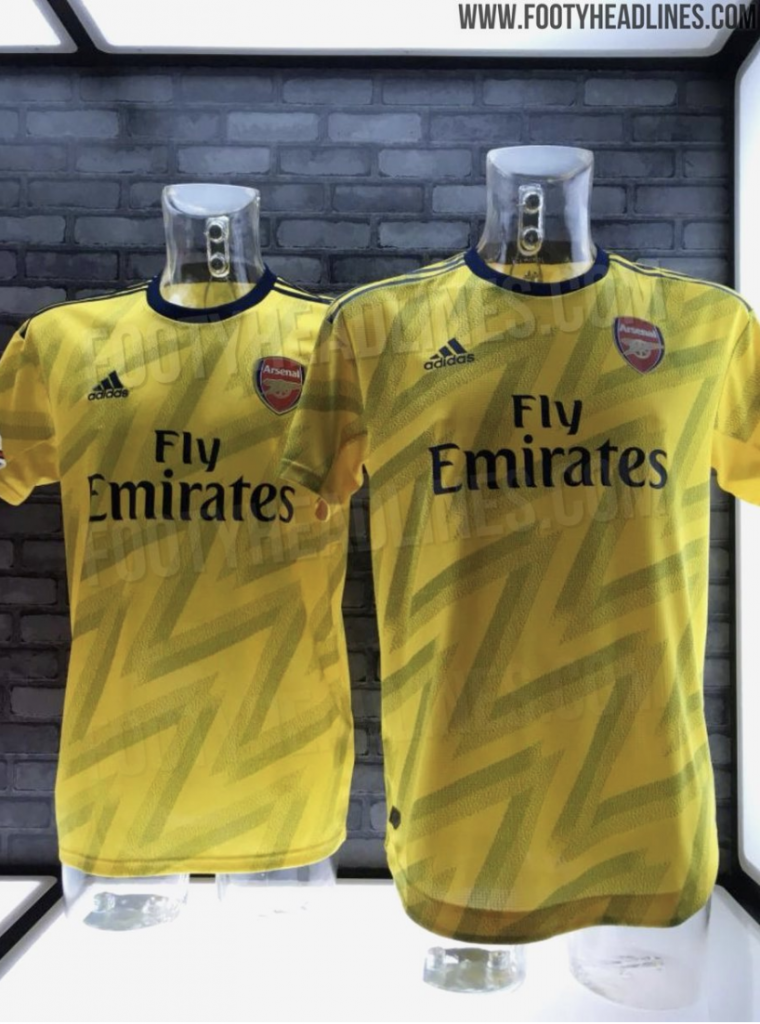 promo code 31d6e 70731 Fresh leaked pictures of Arsenal's throwback away kit