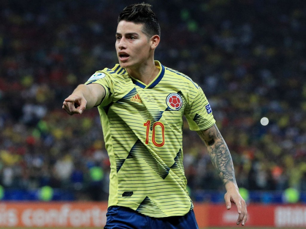 Image result for james rodriguez slams by doctor