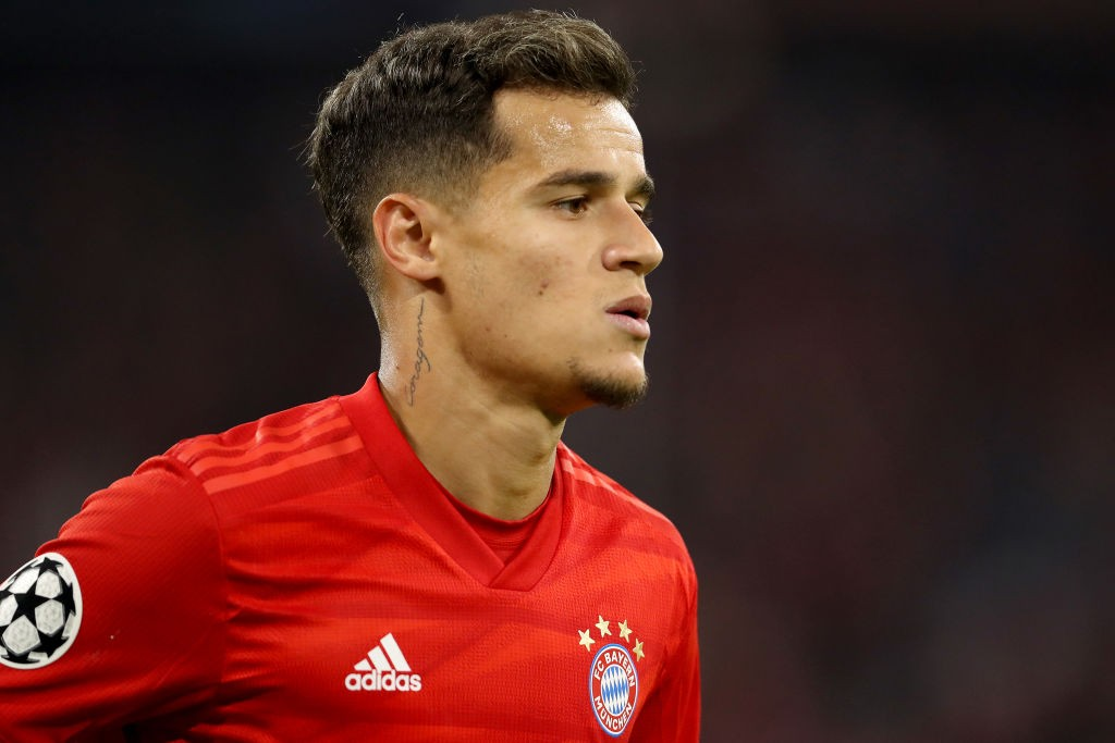 Bayern boss Kovac believes Müller and Coutinho can't play together