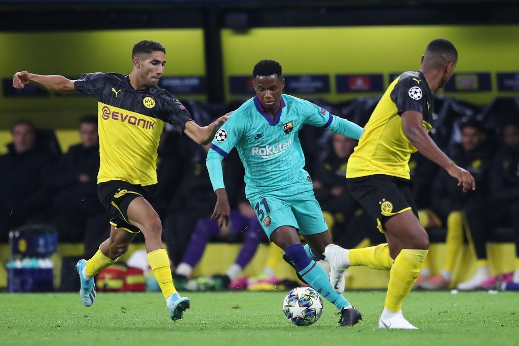 Barcelona 'left frustrated' with Spain FA over Ansu Fati