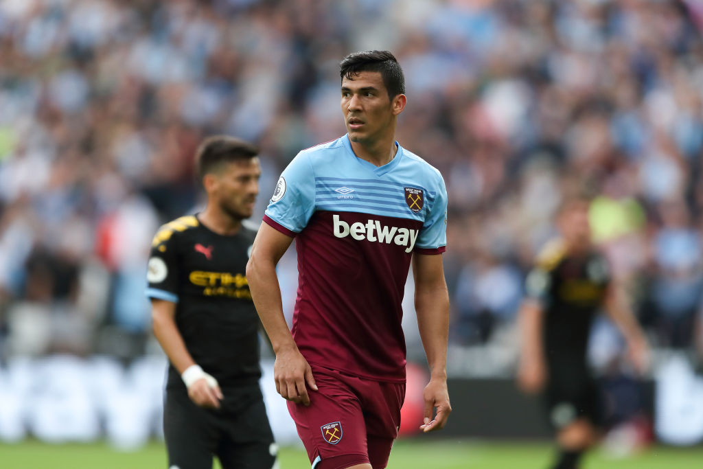 Manuel Pellegrini explains Fabián Balbuena's lack of game time