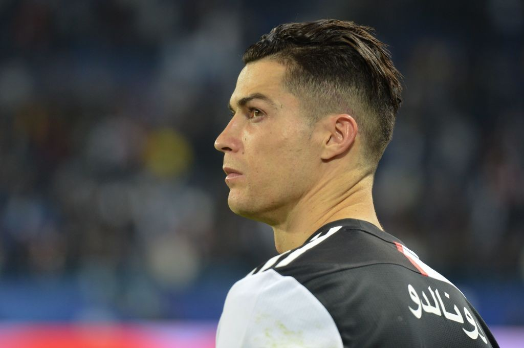 Cristiano Ronaldo Shows Off Controversial New Haircut