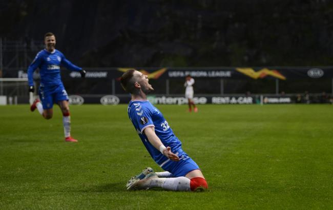 Joe Aribo's Rangers beat Braga to reach Europa League last 16