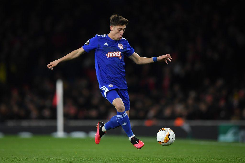 Kostas Tsimikas Arrives for Medical, Four-Year Liverpool ... |Kostas Tsimikas
