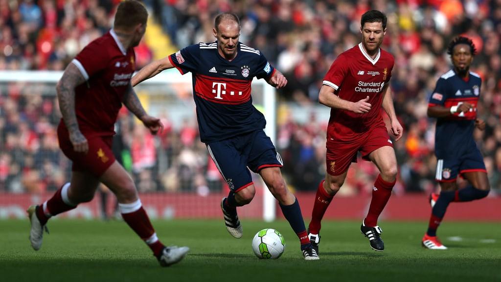 Liverpool Fc Legends V Fc Bayern Legends Friendly Match 1521913964