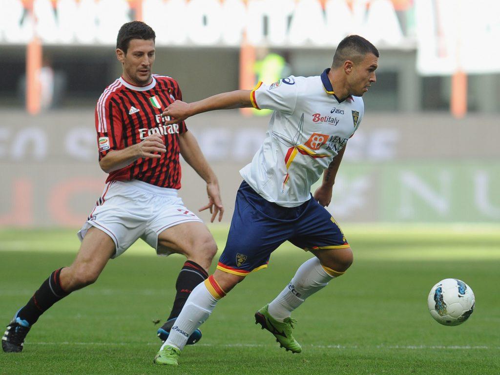 Us Lecce Gegen Milan