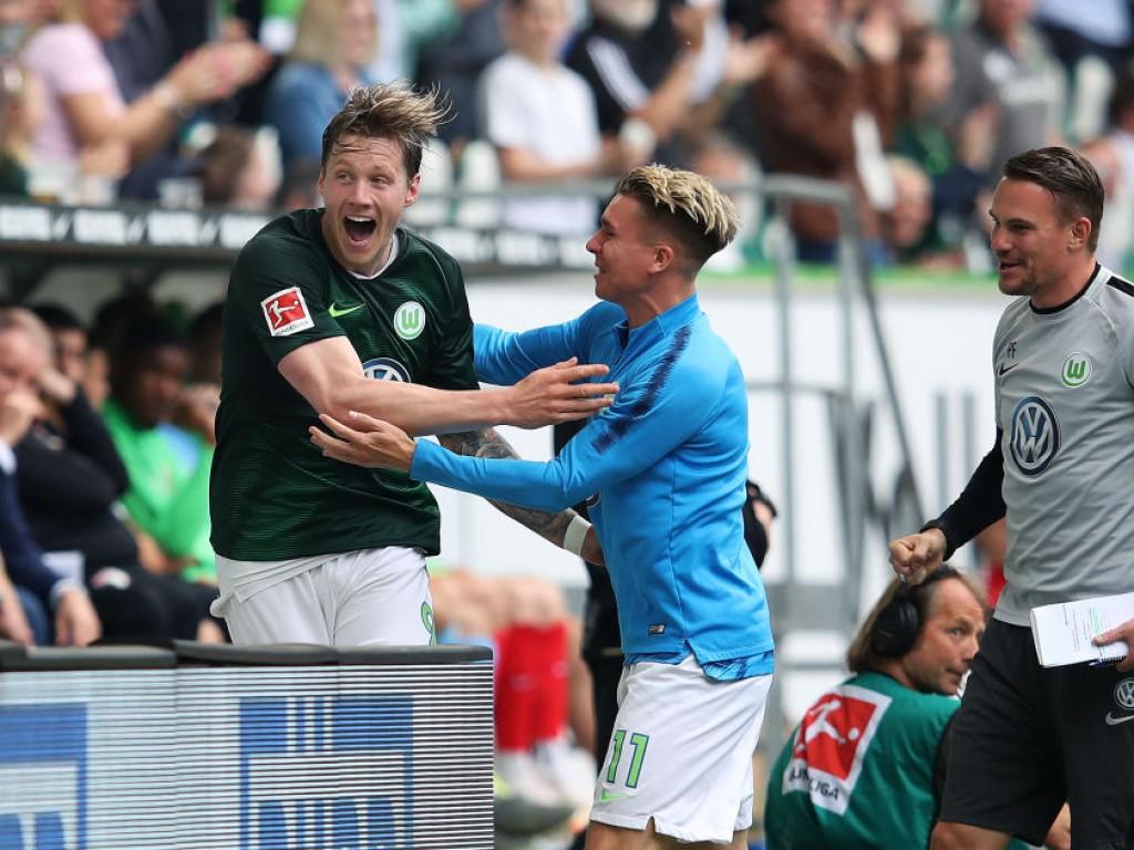 Wolfsburgs Weghorst ballert sich in illustre Runde