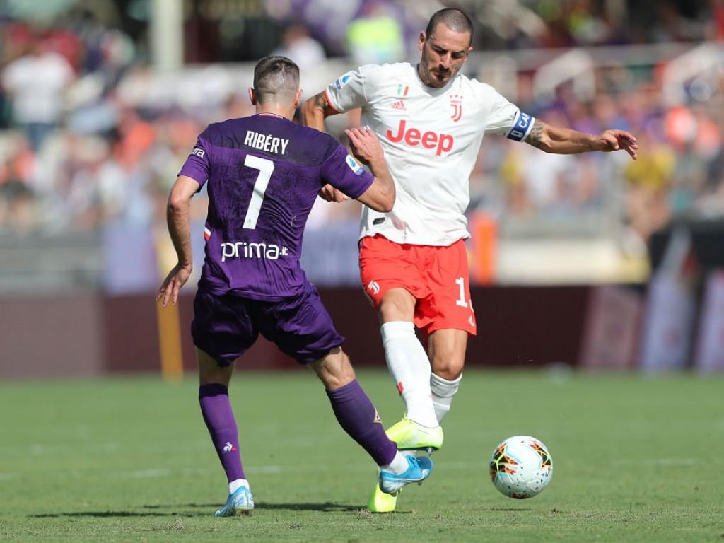 Ribérys Serie hält: Juventus lässt in Florenz Punkte liegen
