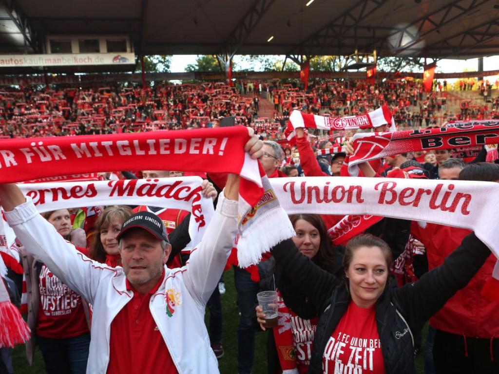 Der Aufstieg macht sich auf in Unions Fanszene bemerkbar