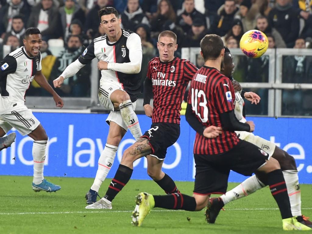 CR7 enttäuscht, aber Juventus schlägt Milan trotzdem