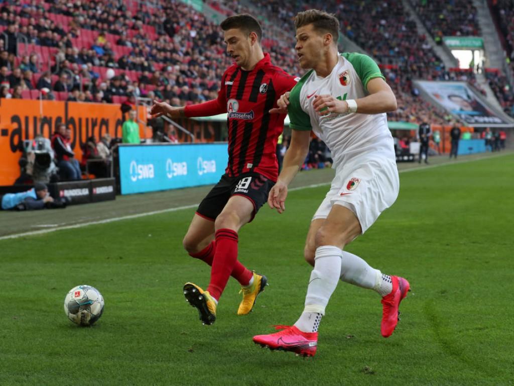Freiburgs Haberer sieht sich als Sieger im Duell mit Daniel Baier