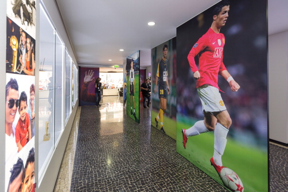 "General view during a the inauguration of the CR7 museum dedicated to the professional career of Portugese footballer and current country soccer team captain Cristiano Ronaldo in Madiere on December 15, 2013. ""I wanted to make a museum for my fans, a place where they can admire the trophies I got during eleven years of professional ""career, said Ronaldo at the inauguration of this space. AFP PHOTO / GREGORIO CUNHA (Photo credit should read GREGORIO CUNHA/AFP/Getty Images)"