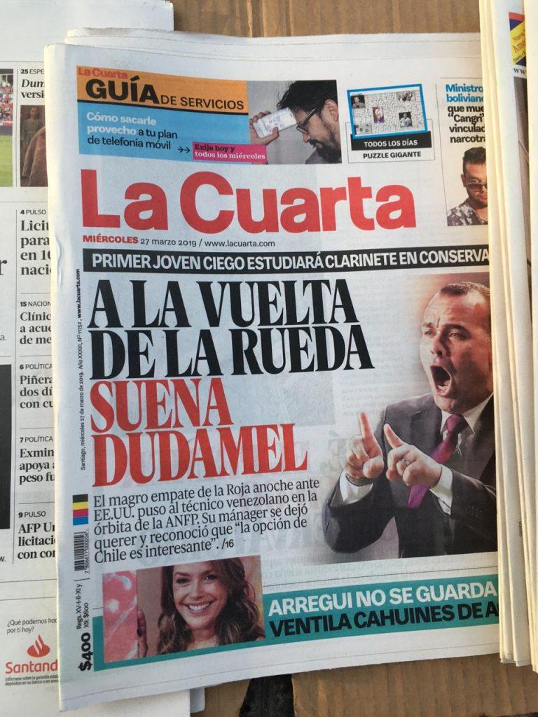 Chile se interesa en Rafael Dudamel - Onefootball Español