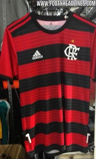 As três listras da Adidas continuam no ombro e as mangas serão totalmente  vermelhas. Segundo o GloboEsporte 6dcd0e2dd6e23
