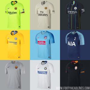 4894285767 Barça, PSG e mais: confira os uniformes reservas da Nike até agora