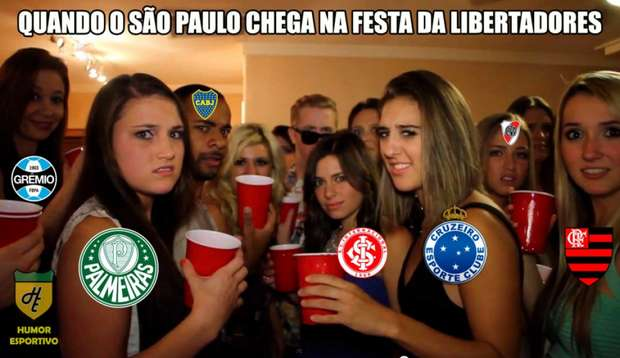 Memes Para Quem Ganha Memes Para Quem Cai Na Pré Libertadores