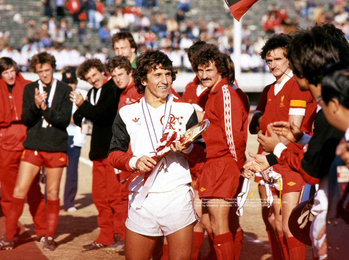 Зико, Ливерпуль - Фламенго 1981