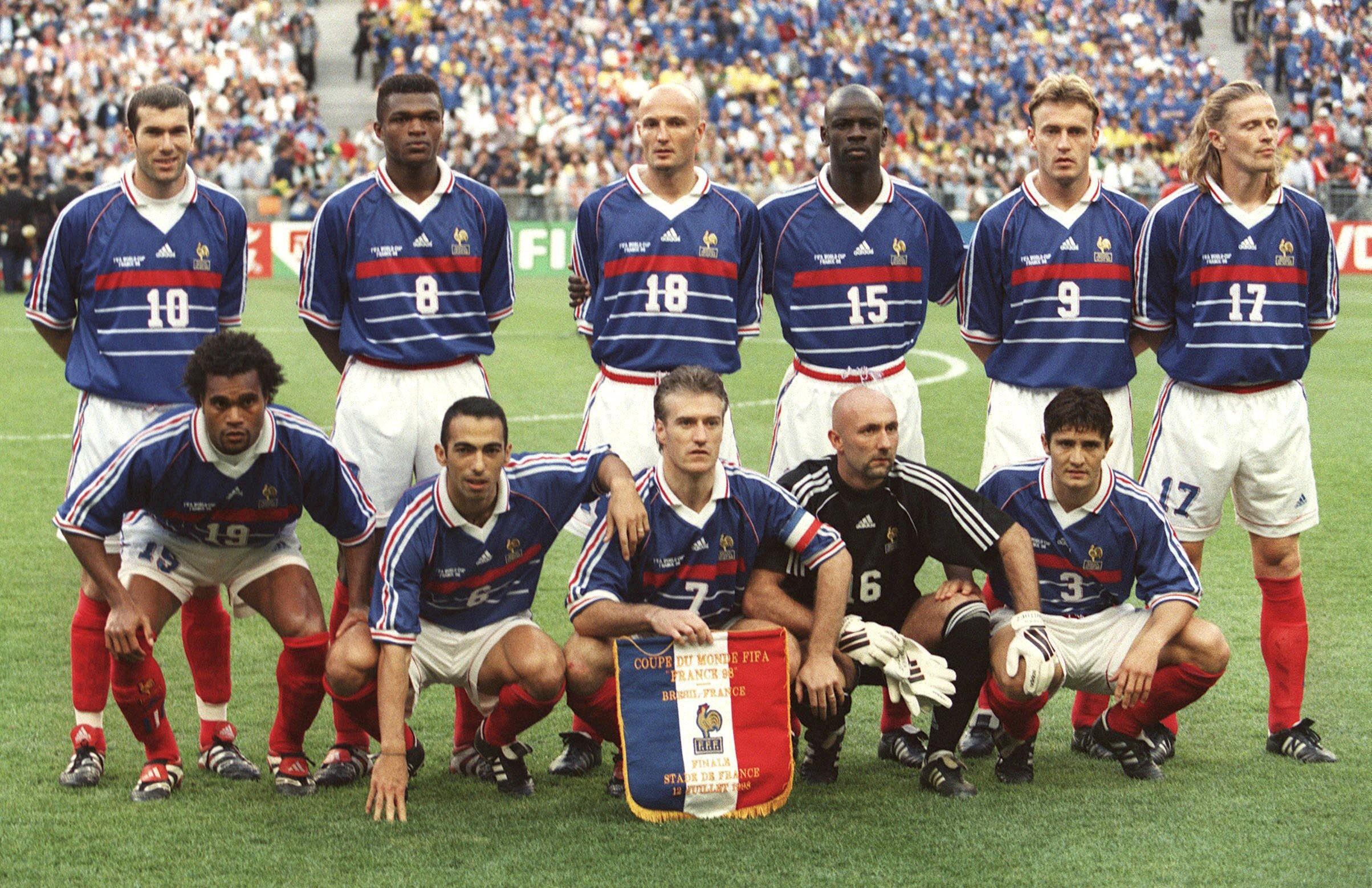 Fußball Nationalmannschaft Frankreich