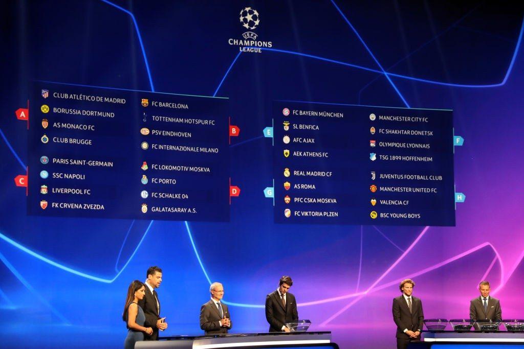 Calendrier Ligue De Champion.Le Calendrier Des Groupes De Ligue Des Champions