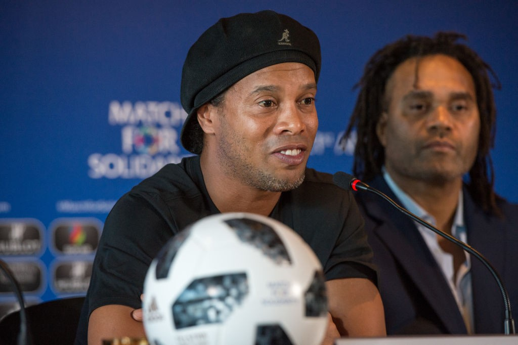 Poursuivi par la justice brésilienne, Ronaldinho a vidé son compte en banque